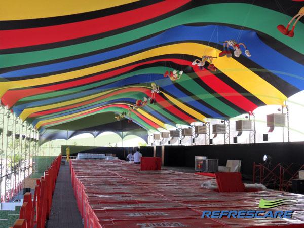Cobertura em Lona para Festas