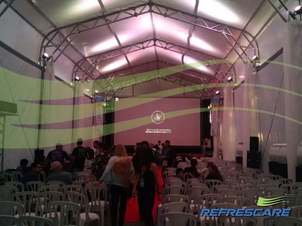Cobertura em Lona para eventos