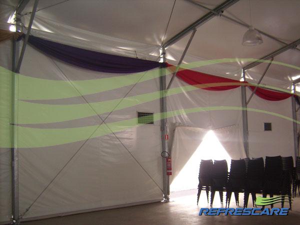 Aluguel de tendas Climatizadas