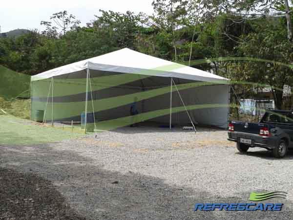 Aluguel de tendas Obras